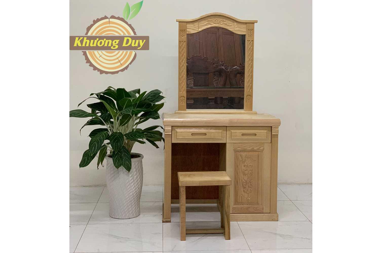 bàn trang điểm gỗ sồi giá rẻ tphcm
