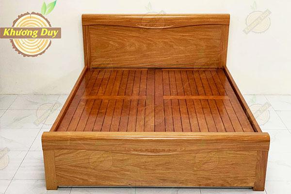 Giường ngủ gỗ Đinh Hương tại TPHCM