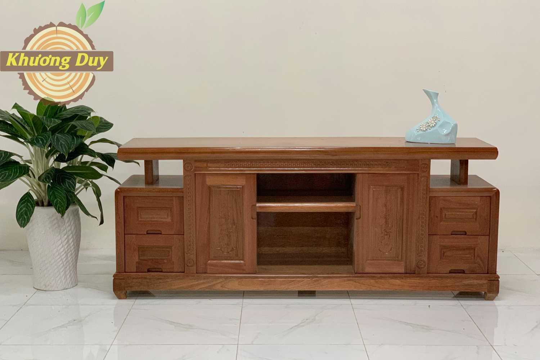 Kệ tivi gỗ tự nhiên Xoan Đào